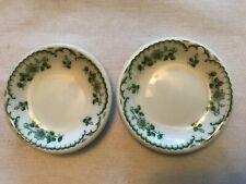 2 Shenango Pottery Vintage Butter Pats