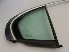 Jaguar X-Type Right Rear Quarter Window Glass W/Chrome Surround C2S43260