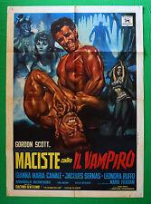 M38 MANIFESTO 2F MACISTE CONTRO IL VAMPIRO GORDON SCOTT JACQUES SERNAS CANALE