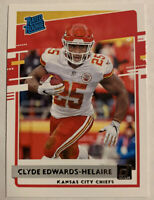 Clyde Edwards-Helaire 2020 Donruss RATED ROOKIE RC #321 - KC Chiefs