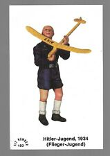 HITLER-JUGEND 1934 SQUADRON RUBIN MINIATURE TOY KIT CARD #193 VERY FINE COND