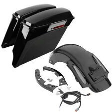 Saddlebags CVO Rear LED Fender For Harley Touring Road Street Glide 2009-2013 10