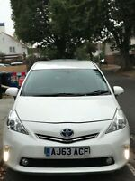 Toyota Prius plus 63 registered 2014 7-seats petrol hybrid auto MOT till feb2021