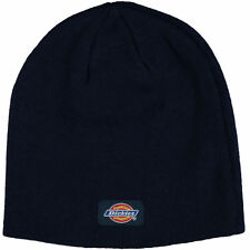 DICKIES Men's Knitted Beanie, Navy Blue, One Size