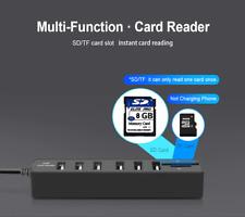 USB Hub 3.0 Multi USB 3.0 Hub USB Splitter High Speed 3 / 6 Ports Hab TF SD Card