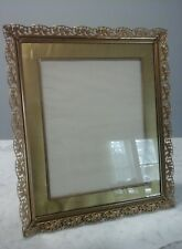 Antique Brass Picture Frame Fabulous and Elegant Rare Vintage Frame