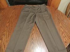 Ermanegildo Zegna Mens dress pants brown size 38