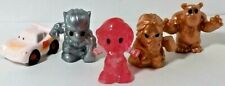 WOOLWORTHS OOSHIES singles RED SPARKLE CAPT' MARVEL-GOLD THOR-SILVER BLACK PANTH