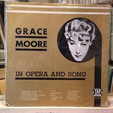 [CLASSICAL]~VG+ LP~GRACE MOORE~In Opera And Song~{Mi Chiamano Mimi~Pour Toi]~'74