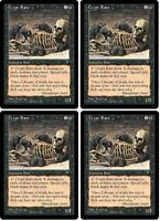 MTG x4 Crypt Rats Visions 1996 Playset NM Magic the Gathering PAUPER