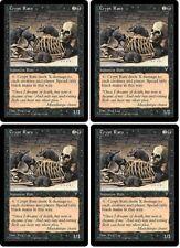 MTG x4 Crypt Rats Visions 1996 Playset NM Magic the Gathering PAUPER