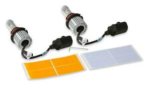 Holley 9007BEL Bright Earth LED Replacement Headlight Bulbs 9007 BW