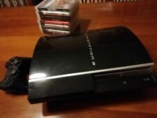 PS3 PLAYSTATION 3 nera + Controller + bundle 9 giochi - Usata
