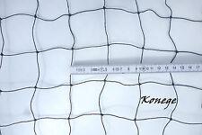 Ballfangnetz 10m Länge, Höhe wählbar, 5cm Maschenweite Schutznetz Fangnetz Netz