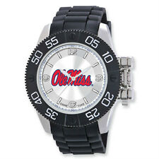 """NIB Ole Miss Mens University of Mississippi """"Beast"""" Watch by Game Time"""