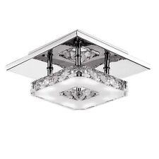 Fuloon 12w moderno Cristallo Lampada a soffitto Plafoniera LED Lampadario (q6k)