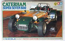 TAMIYA 1/12 Caterham Super Seven BDR #10201 scale model *Box damaged condition