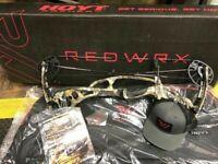 "Hoyt Redwrx Carbon RX-4 Alpha, RealTree Edge, 55-65#, 25-28"" Draw Length, RH"
