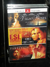 Villa des Roses / English As A Second Language / Partition (DVD) 3-Movies! NEW!
