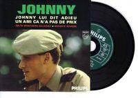 █ JOHNNY HALLYDAY (CD prix mini) : (A L'ARMEE) LUI DIT ADIEU (EP PLASTIFIÉ)
