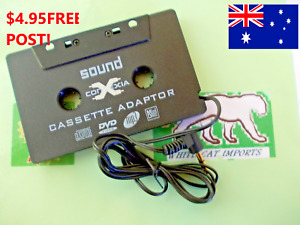 VINTAGE CAR IPHONE & ANDROID PHONE CASSETTE ADAPTOR PLAY & STREAM YOUR MUSIC