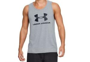 Under Armour Sportstyle Tank Shirt Loose Fit Heatgear Keeps you Cool Gray S