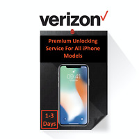 VERIZON PREMIUM UNLOCK SERVICE FOR IPHONE 11 | 11 PRO MAX | XS | XR | X | 8 | 7