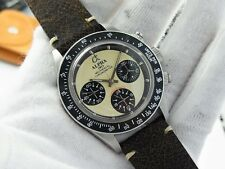 ALPHA WATCH DAYTONA CERAM DIAL BLACK BEZEL PAUL NEWMAN MECHANICAL CHRONOGRAPH