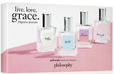 Philosophy Live Love Grace Fragrance Boxed Set Fresh Living Joyously Loveswept