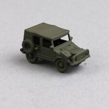 Spur N 1:160 Bundeswehr DMW Munga 6 oliv grundlackiert gebaut Kleinserie Ladung