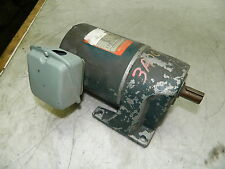 Subaki 15:1 Gear Motor, 0.1 kW, GMT010L15, 4 Pole, 460V, 120 RPM Output, Used