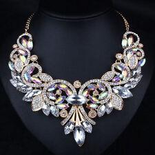 Markenlose Modeschmuck-Halsketten & -Anhänger aus Kristall Strasssteine