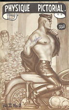 Physique Pictorial vol11 n°2  gay Tom of Finland