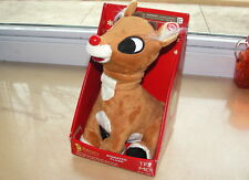 """2008 Gemmy Animated Rudolph The Red Nosed Reindeer 7"""""""