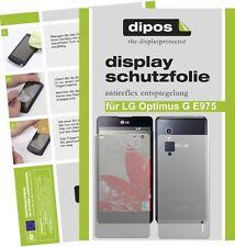 Lg Optimus G E975 Lámina protectora de pantalla mate Antireflejo Dipos