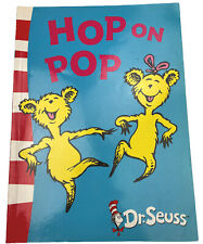 Hop on Pop Children's Picture Book by Dr Seuss 1991 Harper Collins Free Post
