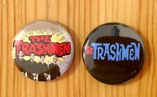 THE TRASHMEN (BAND) - SET OF 2 BUTTON PIN BADGES (25mm)