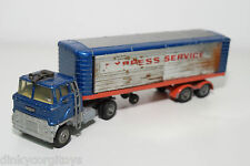 CORGI TOYS 1137 FORD TILT CAB H TRUCK WITH TRAILER EXPRESS SERVICE EXCELLENT