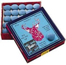 Elkmaster Snooker Pool Billiard Cue Tips 8, 8.5, 9, 9.5, 10, 11, 12, 13mm sizes