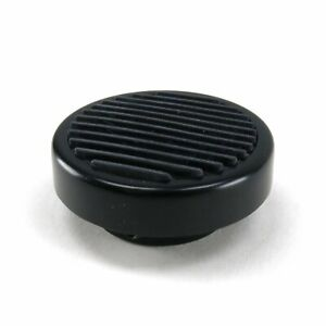 Round Billet Dimmer Switch Pedal - Black (Pad Only)