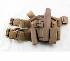Tactical Drop Leg Thigh Right-hand Holster With 2 Pouches For SIG SAUER P226