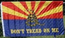 ARIZONA State Flag GADSDEN DONT TREAD ON ME Coiled Snake Logo 3x5 ft Flag