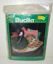 Bucilla Needlepoint Kit Precut Christmas Card Holder/Doorstop Canada Goose 61046