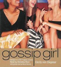 Gossip Girl by Cecily von Ziegesar - Audio Book CD New