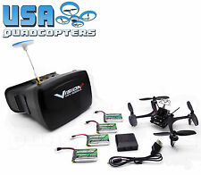 PitchPlus 135 Brushed Racing Drone with Vision+ 5.8GHz FPV Goggles w/o Camera/TX