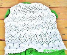 Feine Ärmellose Damen-Pullover & Strickware mit Rundhals und Taillenlang