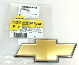 2009 2010 2011 Chevrolet Aveo gold front grille Bowtie Emblem new OEM 96808252