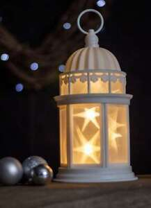 3D Light Up LED Lantern Battery Operated Decoration Hanging Ornament Christmas