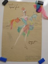 FREDDY WITTOP Tropical Fish COSTUME Design