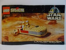 7110 Star Wars Landspeeder Lego Instruction Manual Only #14